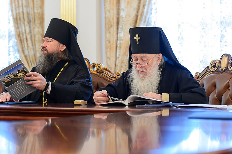 В Астане состоялось заключительное в 2018 году заседание Синода Митрополичьего округа Русской Православной Церкви в Республике Казахстан