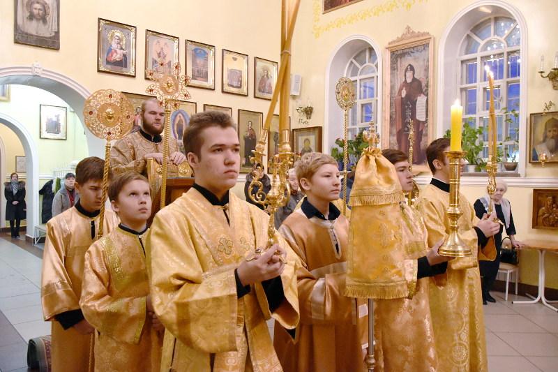 Архиерейское богослужение в Кафедральном соборе Вознесения Господня