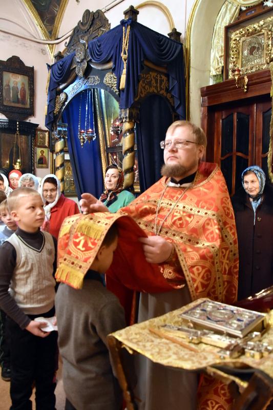 Архиерейская Литургия в день святой Екатерины