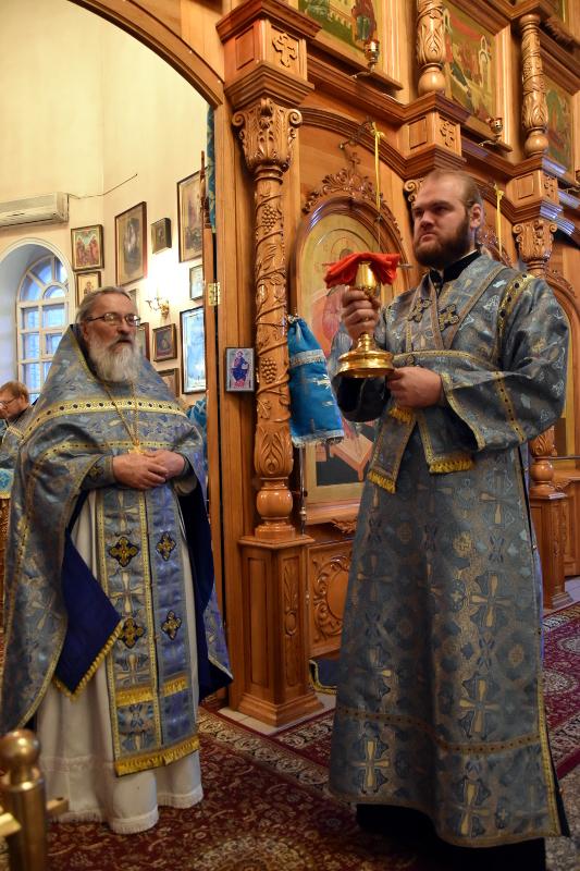 Отдание праздника Введения во храм Пресвятой Богородицы в кафедральном соборе