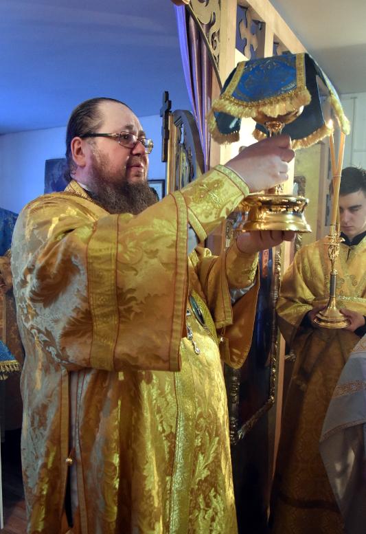 Архиерейское богослужение в Неделю 29-ю по Пятидесятнице