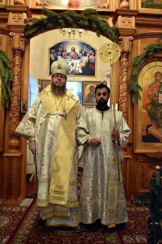 Архиерейская служба в Рождественский сочельник