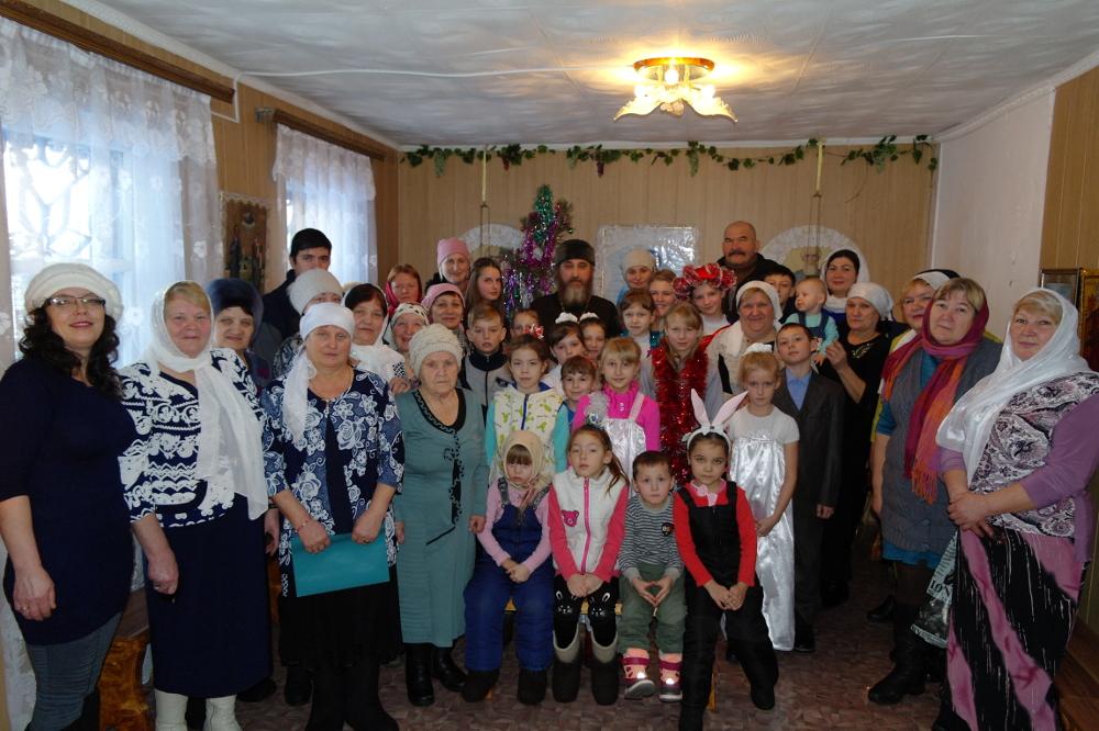 Рождество Христово в селах Кызылжарского района