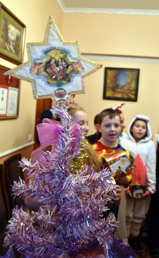 Светлый праздник Рождества Христова в школе в честь прп.Сергия Радонежского
