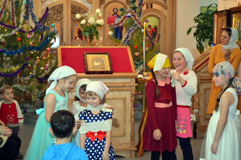 Светлый праздник Рождества Христова в селе Саумалколь