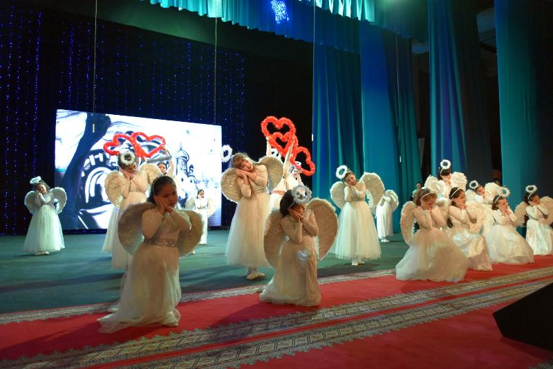 Праздничный концерт в честь Рождества Христова