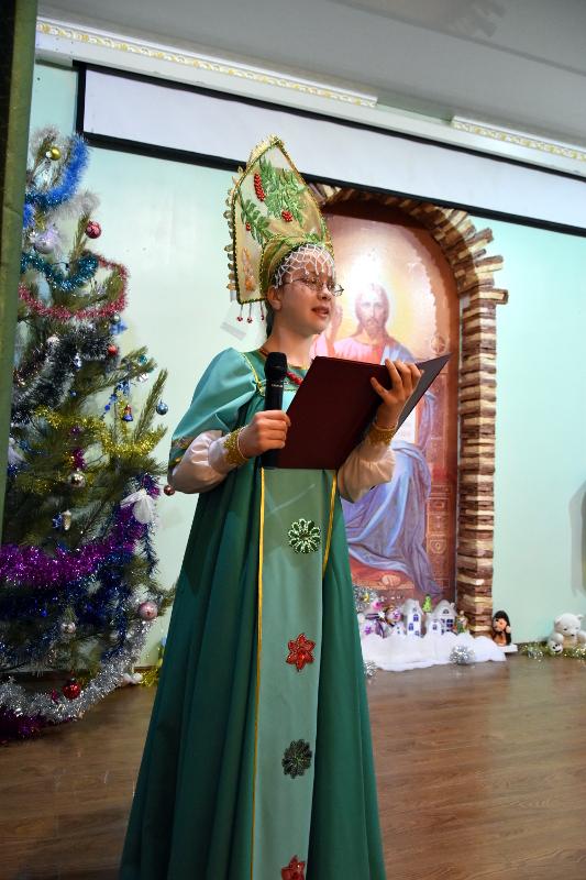 Рождественская ёлка в кафедральном соборе
