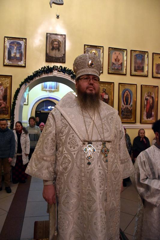 Великий праздник Обрезания Господня в кафедральном соборе