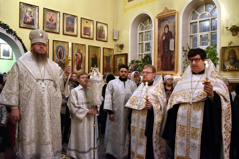 Святое Богоявление в кафедральном соборе