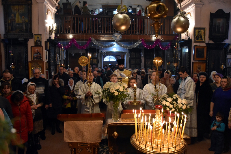 Архиерейское Богослужение в день Собора Предтечи и Крестителя Господня Иоанна