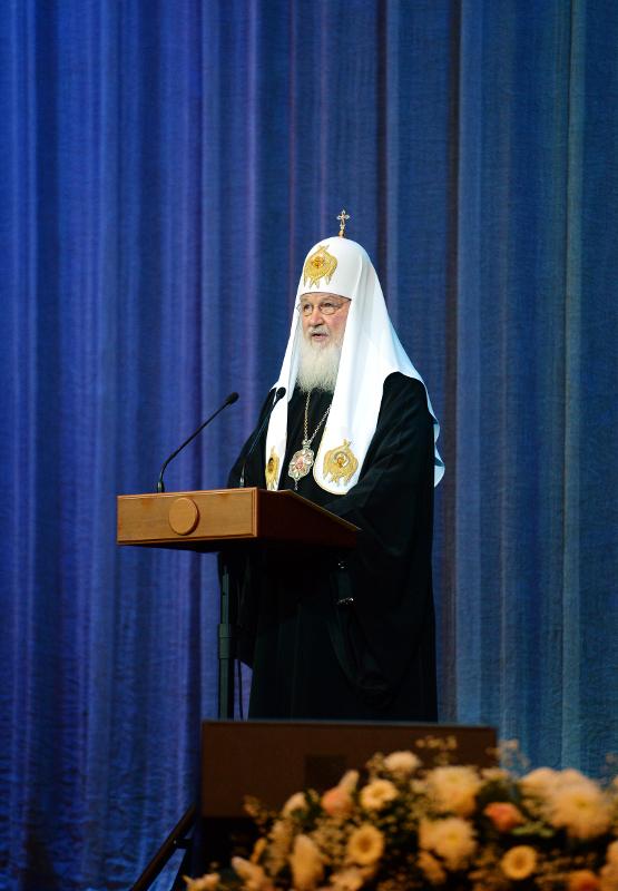 Делегация Петропавловской епархии приняла участие в торжественном акте, посвященном 10-летию Поместного Собора Русской Православной Церкви