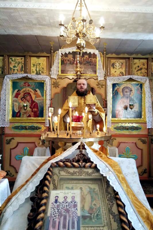 Престольный Праздник в селе Чкалово, память Вселенских учителей и святителей, Василия Великого, Григория Богослова и Иоанна Златоустого