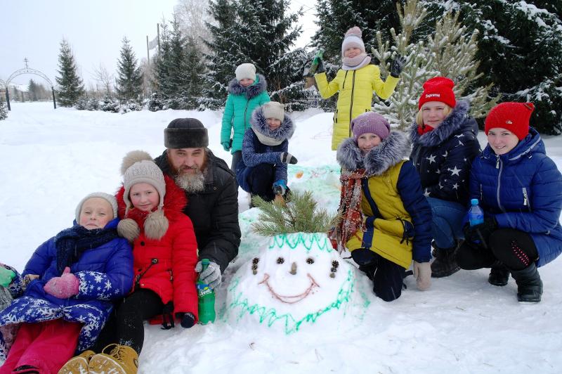 Сретение Господне в воскресной школе села Новоникольское