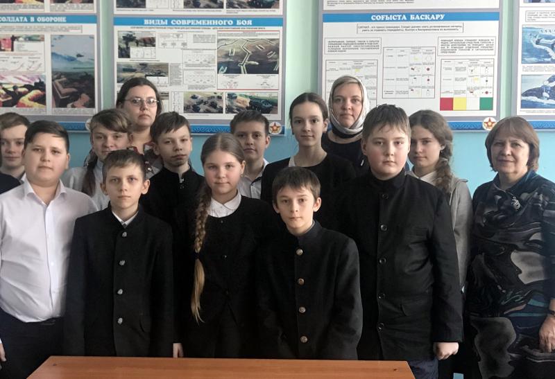 Неделя Православной Молодежи в школе преподобного Сергия Радонежского