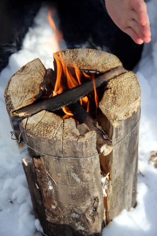 «Зимний поход» отряда «Дельта»