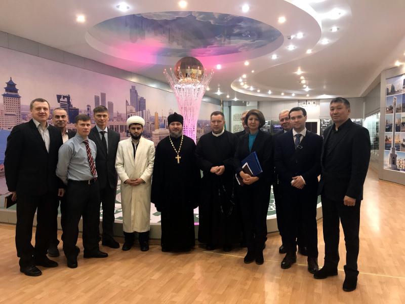 Очередное заседание Клуба лидеров религиозных объединений области