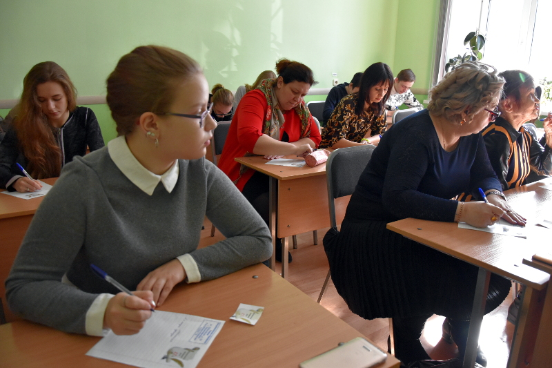 Тотальный диктант состоялся в Петропавловске
