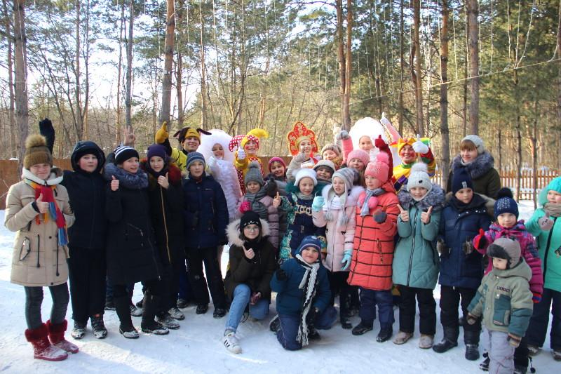 Праздник Масленицы в школе преподобного Сергия Радонежского