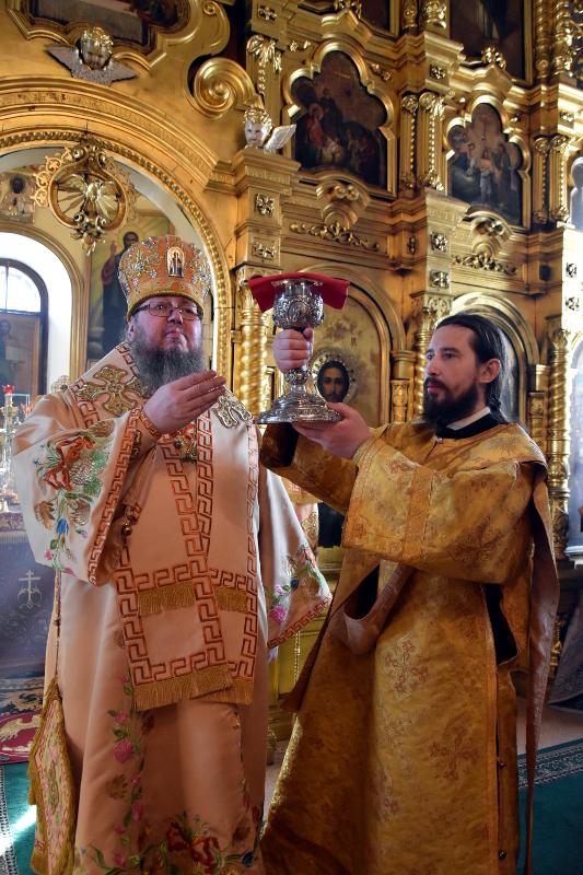 Божественная Литургия в Прощеное Воскресение