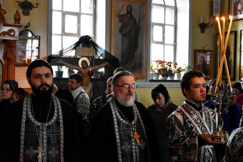 Чтение покаянного канона прп. Андрея Критского в понедельник первой седмицы Великого Поста