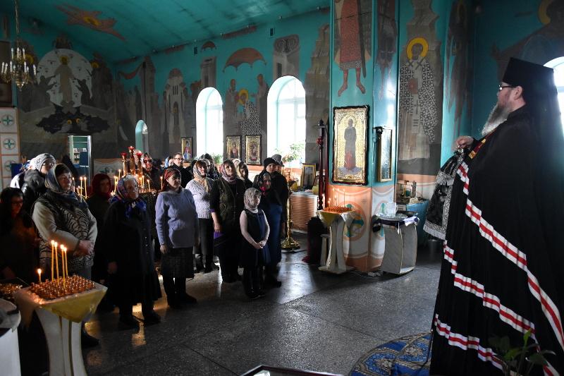 Чтение Покаянного канона прп. Андрея Критского во вторник первой седмицы Великого Поста