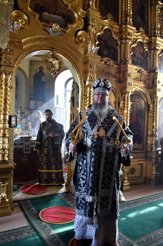 Первая Литургия Преждеосвященных Даров в Великом Посту
