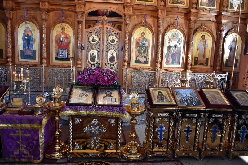 Молебное пение в день Торжества Православия в кафедральном соборе