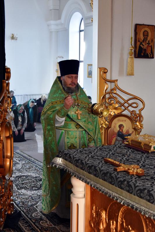 Престольный праздник в храме преподобного Севастиана Карагандинского