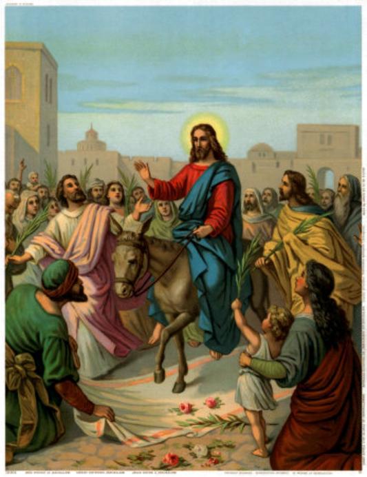 Вербное воскресение в кафедральном соборе