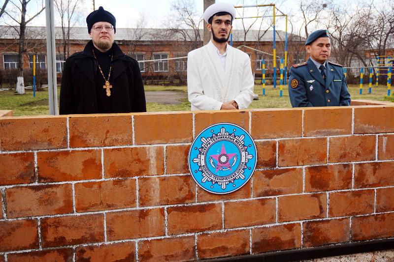 Присяга в военно-технической школе города Петропавловска