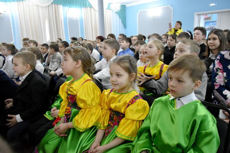 Праздник Пасхи Господней в Школе в честь прп. Сергия Радонежского