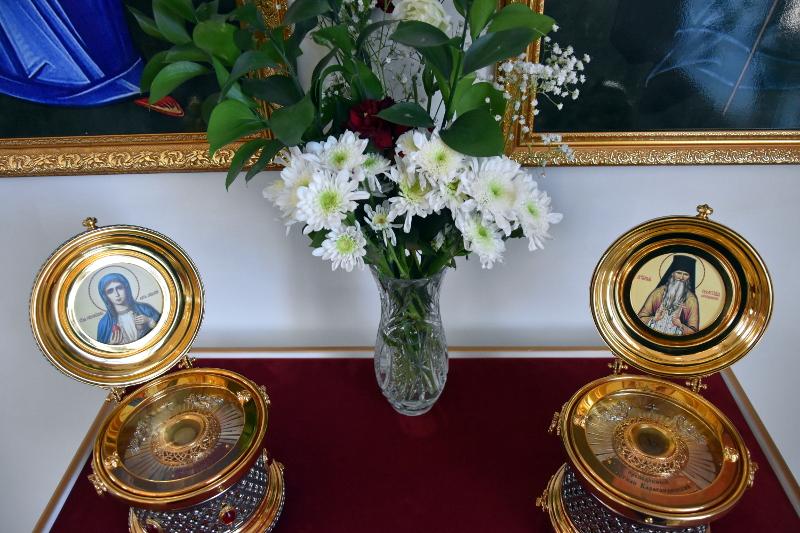Божественная Литургия в праздник иконы Божией Матери «Живоносный источник»