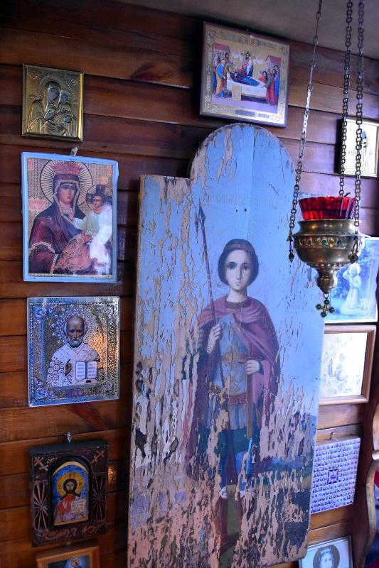 Престольный Праздник храма вмч. Георгия Победоносца с. Соколовка