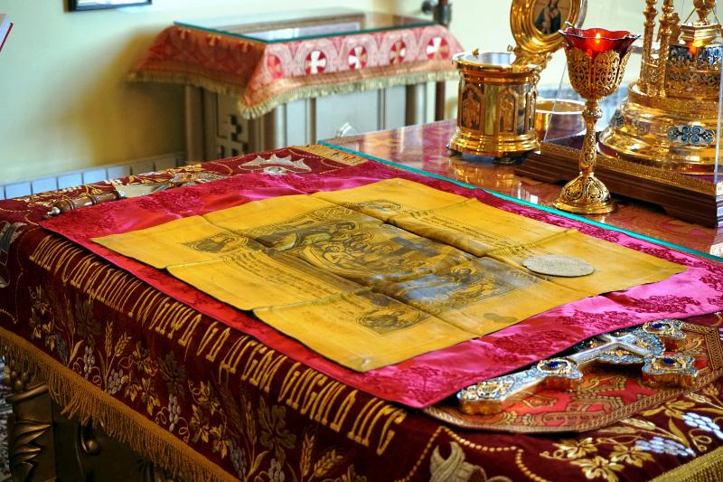 Праздник жен-мироносиц в кафедральном соборе