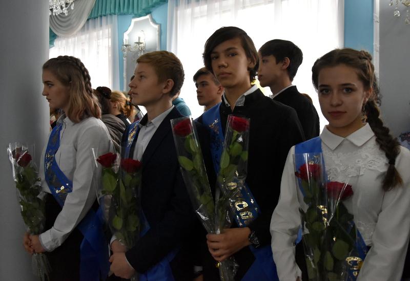 Праздник Последнего Звонка в школе в честь прп. Сергий Радонежского