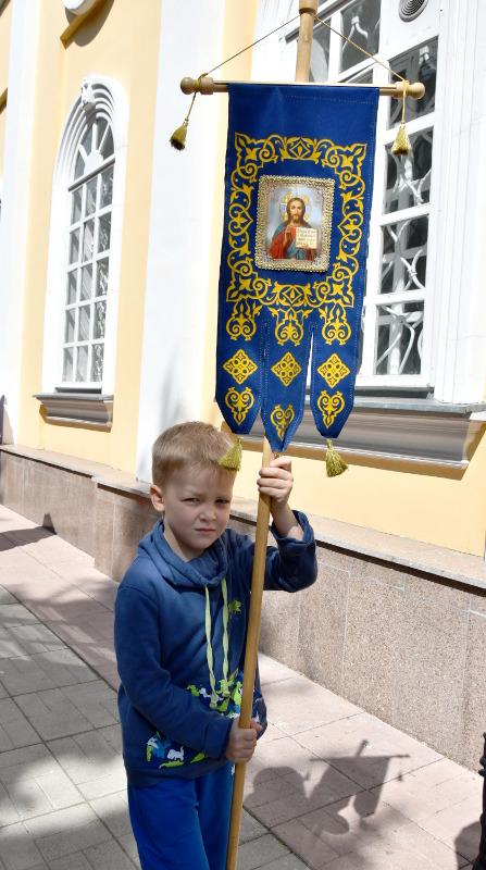 Архиерейская Литургия в Неделю о Слепом