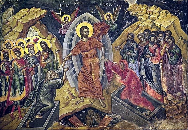 Архиерейская Литургия в день Отдания праздника Пасхи