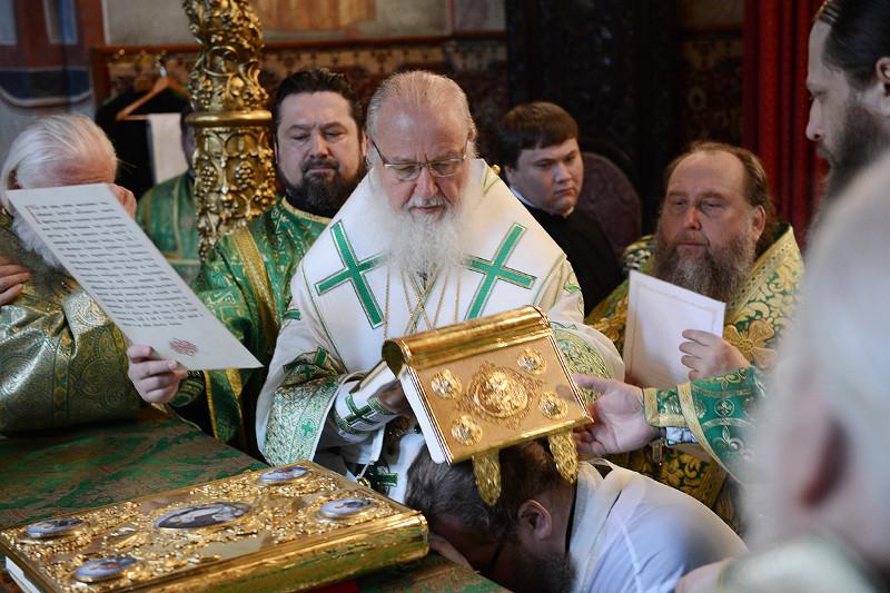 Юбилей архиерейской хиротонии Преосвященнейшего епископа Петропавловского и Булаевского Владимира