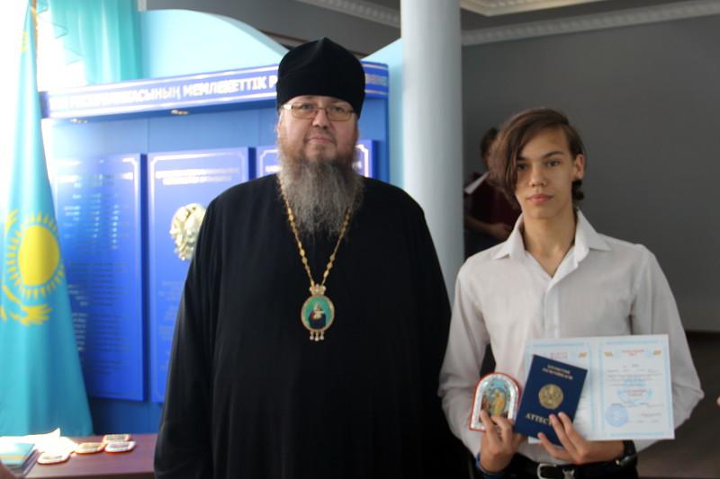 Выпускной вечер в школе в честь преподобного Сергия Радонежского