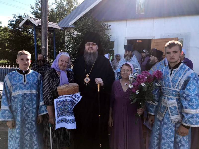 Престольный праздник в с. Боголюбово