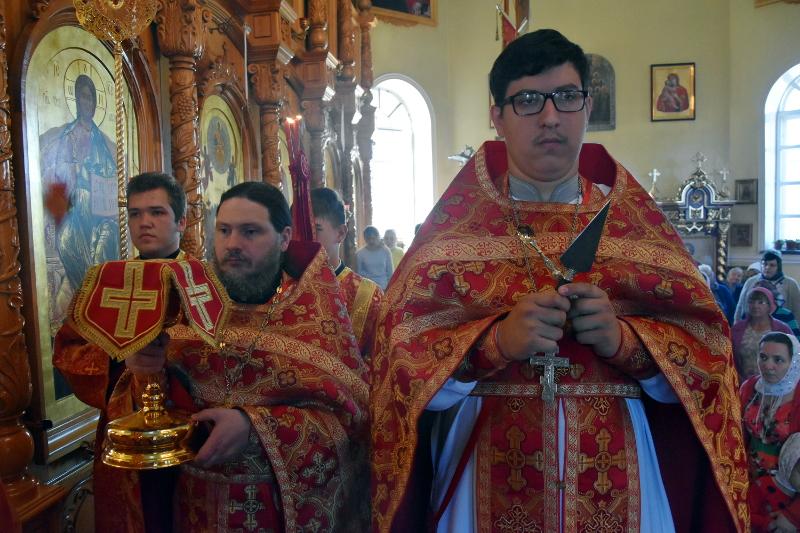 Праздник Рождества Иоанна Крестителя в Кафедральном соборе