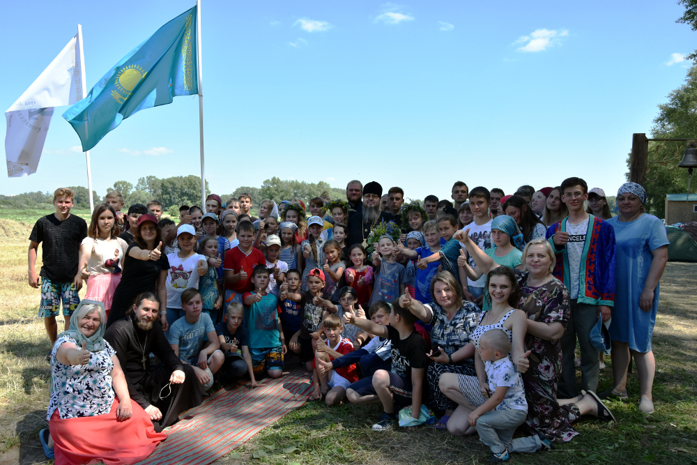 Детский Епархиальный палаточный лагерь «Никольская слобода 2019»