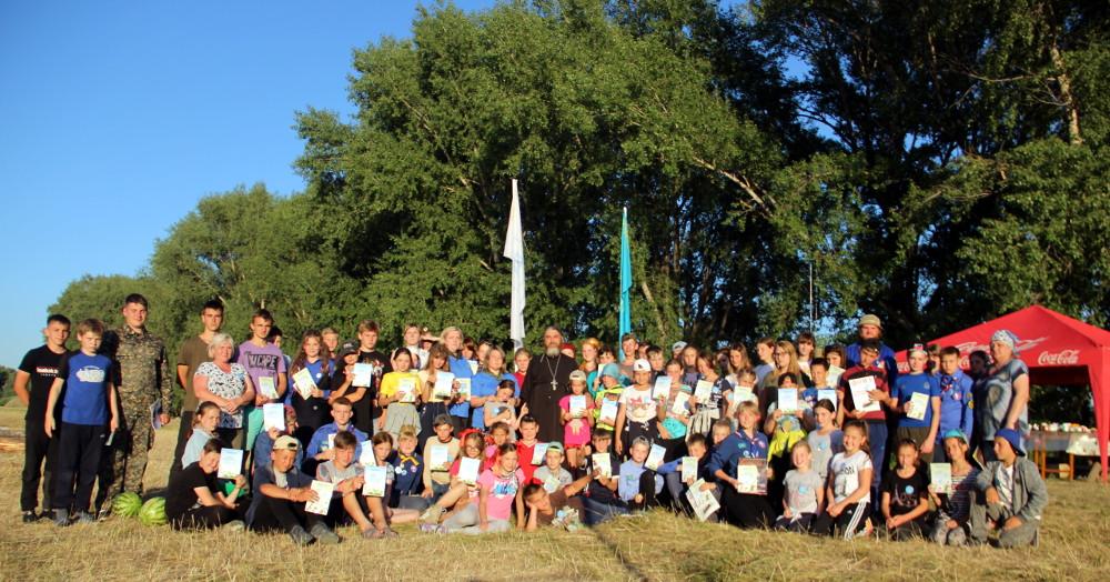 Детский епархиальный палаточный лагерь «Никольская Слобода»