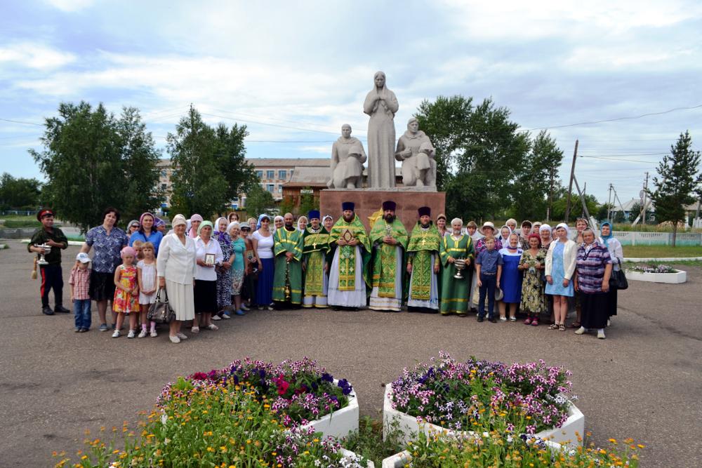 День небесного покровителя града Сергеевки