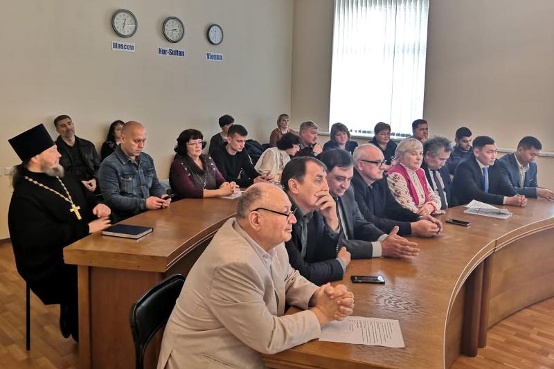 4 сентября 2019 года г. Петропавловск посетила делегация из ОБСЕ
