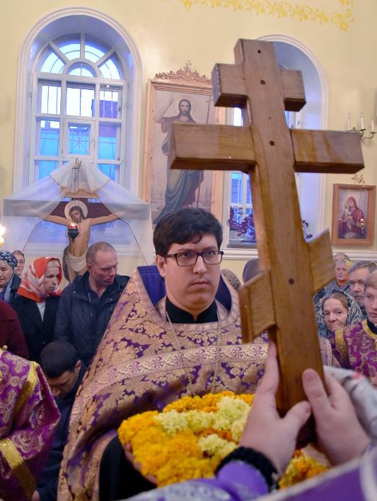 Всенощное Бдение под праздник Воздвижения Креста Господня