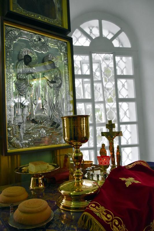 Архиерейская Литургия в Неделю 15-ю по Пятидесятнице