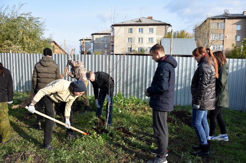 «Эко-час» в школе в честь прп. Сергия Радонежского