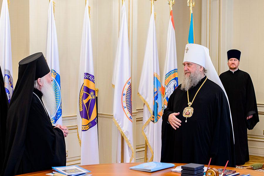 В Алма-Ате прошло очередное заседание Синода Митрополичьего округа