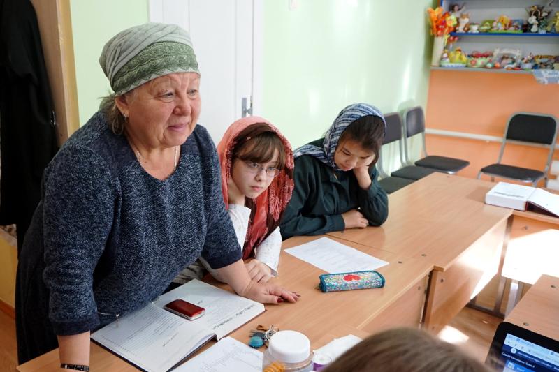 Ребята из воскресной школы Вознесенского кафедрального собора приняли участие в Международной интернет-карусели